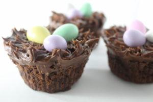 Gluten-Free Brownie Nests