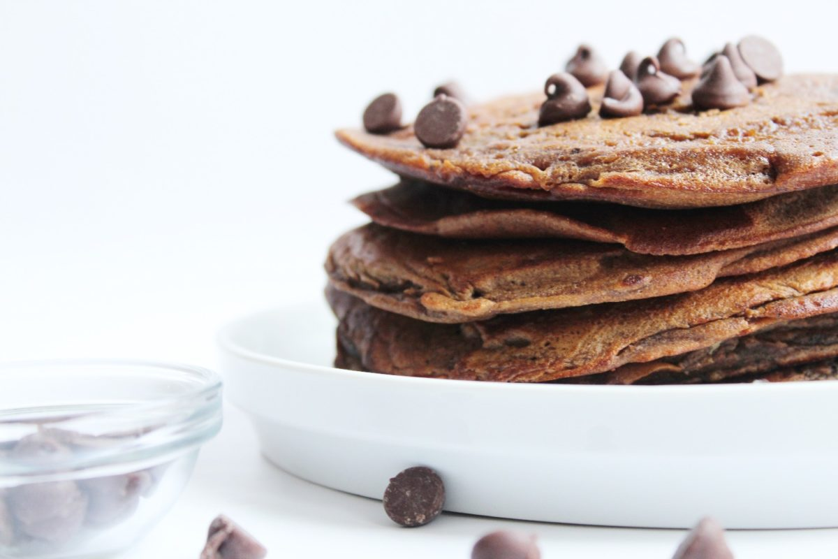 Gluten-Free Double Chocolate Pancakes