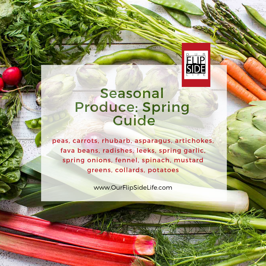 Seasonal Produce: Spring Guide