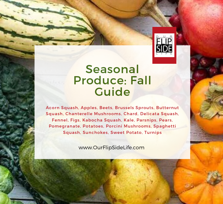 Seasonal Produce: Fall Guide